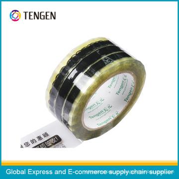 Logotipo del OEM que imprime la cinta adhesiva de BOPP