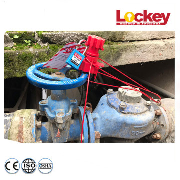 Large Universal Valve Lockout Base with Cable