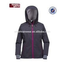 OEM Usine En Gros Pas Cher Femmes Sportswear S-3XL Résistant À L'eau Manteau léger imperméable softshell veste