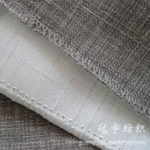 Tela compuesta de lino ignífugo para fundas