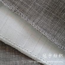 Tissu ignifuge de composé de lin pour des couvertures antidérapantes