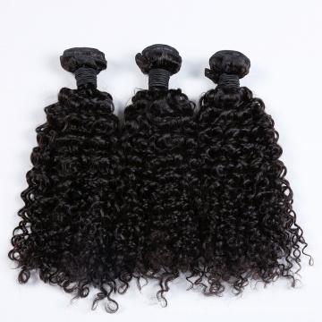Armadura rizada brasileña del pelo humano de la acción al por mayor grande del precio