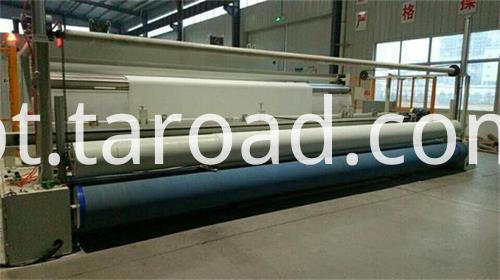 300g PP Non woven geotextile equipment