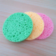 Wholesale Natural Wood Pulp Cellulose Sponge Makeup Mover Sponge