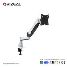 Orizeal double moniteur stand, riser de moniteur pas cher, support de moniteur d'ordinateur réglable (OZ-OMM002)