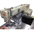 Máquina de coser completamente automática con visera