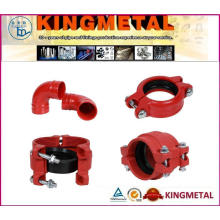 Ductile Iron Pipe Fittings Cross Tee Bend Taper Reducer