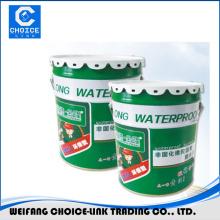 Non solidify rubber bitumen waterproofing coating