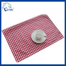 Platotier de coton 100% simple en coton (QHS44509)