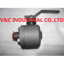 Tiny Ball Valve with Lock Device