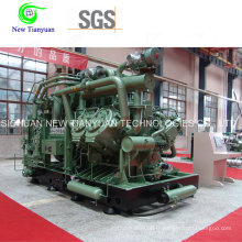 Compresseur à gaz naturel compressé à gaz de type W pour diverses utilisations