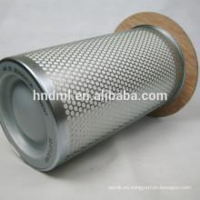 22219174 elemento de filtro de aceite y gas separado para el filtro de aire del compresor de aire de la máquina MM250