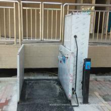 300 кг для одной инвалидной коляски и человека гидравлический электрический подъемник для инвалидной коляски