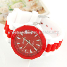 Reloj caliente de las señoras del deporte del silicón del reloj del wristband del silicón de la venta