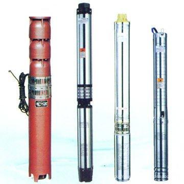 Qj pompe à eau centrifuge à puits verticaux submersibles verticaux