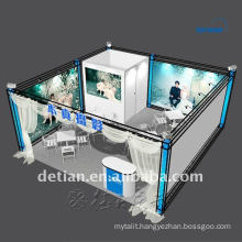 export expo stand, exhibition booth design and construction for trade show display custom