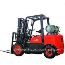 Chariot élévateur GPL / Gaz de 3 tonnes pour la logistique Sh30fr