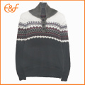 Mens Red Acrylic Sweater Stylish Sweaters For Guys