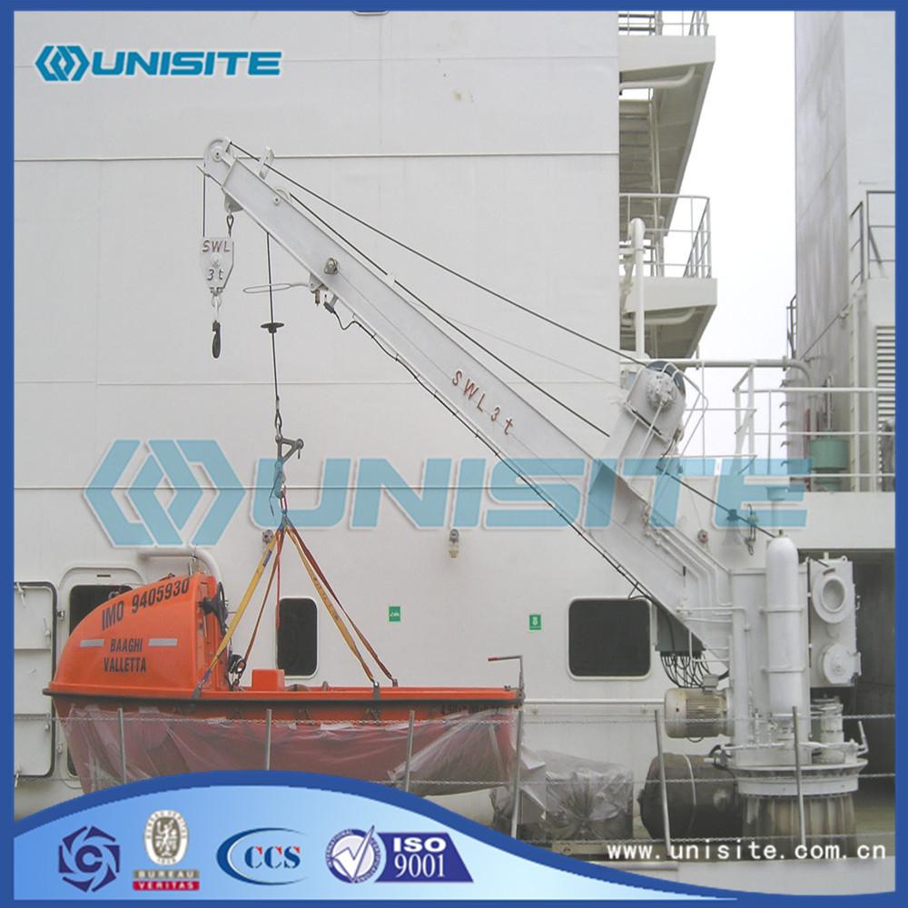 Marine Steel Davit Cranes