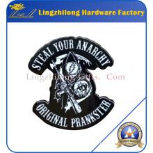 Dye Black Greatful Badge en métal mort