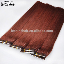 2015 arrivée chaude nouveaux produits en gros en vrac remy réel remy cheveux humains blonde / brun clair