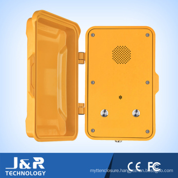 Outdoor Emergency Telephone Railway VoIP Phone Heavy Duty Phone
