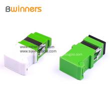 SC APC Simplex with Shutter Fiber Optic Adaptor