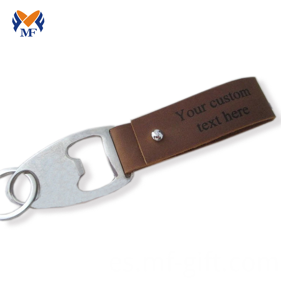 Leather Keychain Mens