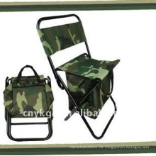 Taschenklappstuhl für Garten, normale Tasche und Kühltasche