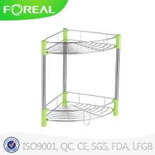 New Design Stainless Steel Bathroom Corner Rack