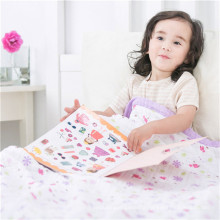 factory supplier muslin fabric baby blanket