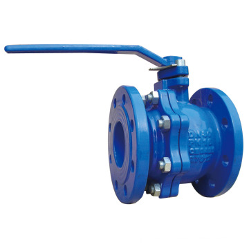 DIN Cast Iron Ball Valve Pn10-16