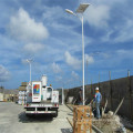 Double éclairage à rayons solaires à LED avec 5 ans de garantie