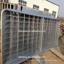 Painéis de currais galvanizados de alta qualidade / painéis de vedação de segurança galvanizados