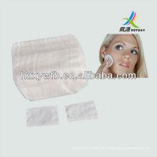 Almofada cosmética do algodão 100%, compo a almofada