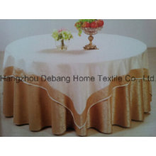 Hot Selling High Quality Jacquard Textile Table Cloth for Hotel
