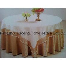 Горячий продавая высокомарочный жаккардовый ткань таблицы ткани для гостиницы