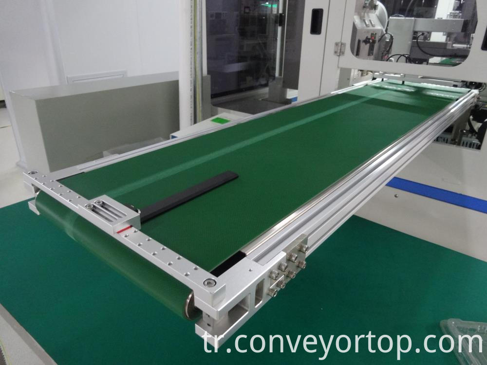 Green Anti Static Pvc Small Belt Conveyor