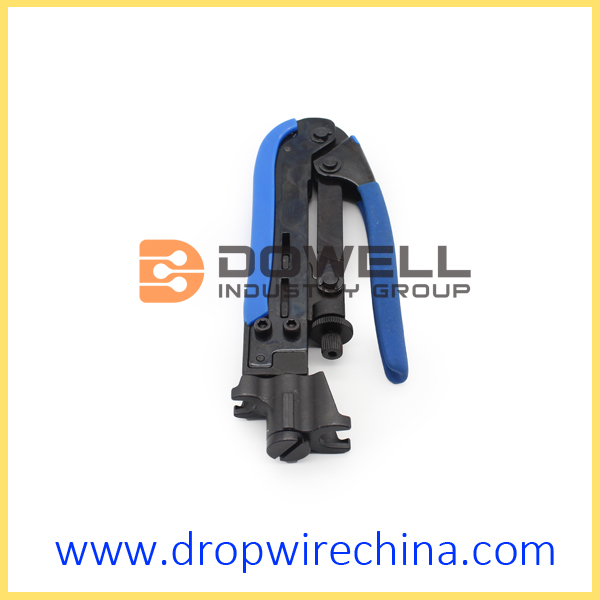 RG59 RG6 RG11 F Compression Connector Crimping Tool