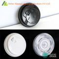Термоформовочная пластиковая чашка кофе крышкой БОПС
