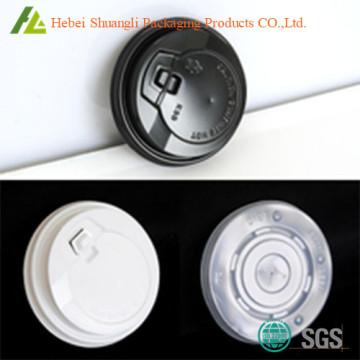 Пластичная чашка кофе PS крышек