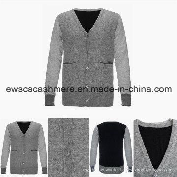 Men Pure Cashmere Cardigan