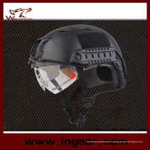 Casco táctico militar y firme casco Airsoft