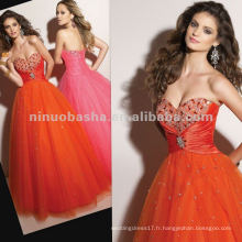 NY-2358 sweetheart décolleté robe jupe robe de quinceanera