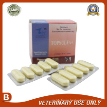Veterinary Drugs of Sulfadiazine Bolus
