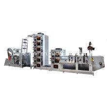 Máquina de impressão de etiquetas flexográficas (rótulo logístico)