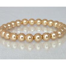 Atacado de alta qualidade bela pulseira de cristal bead pulseira