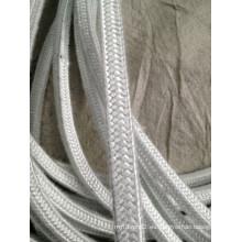 Cuerda cuadrada de fibra de vidrio para mantener caliente, aislamiento contra el calor, etc