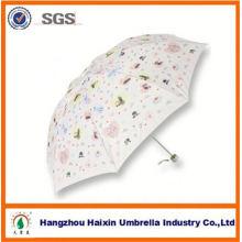 2015 dernière meilleure vente Custom 3 pliage parapluie