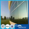 10mm толщиной здании плоский согнуты кривый закаленное стекло в Китае